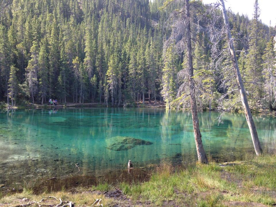 Grassi Lakes Hiking - Summer