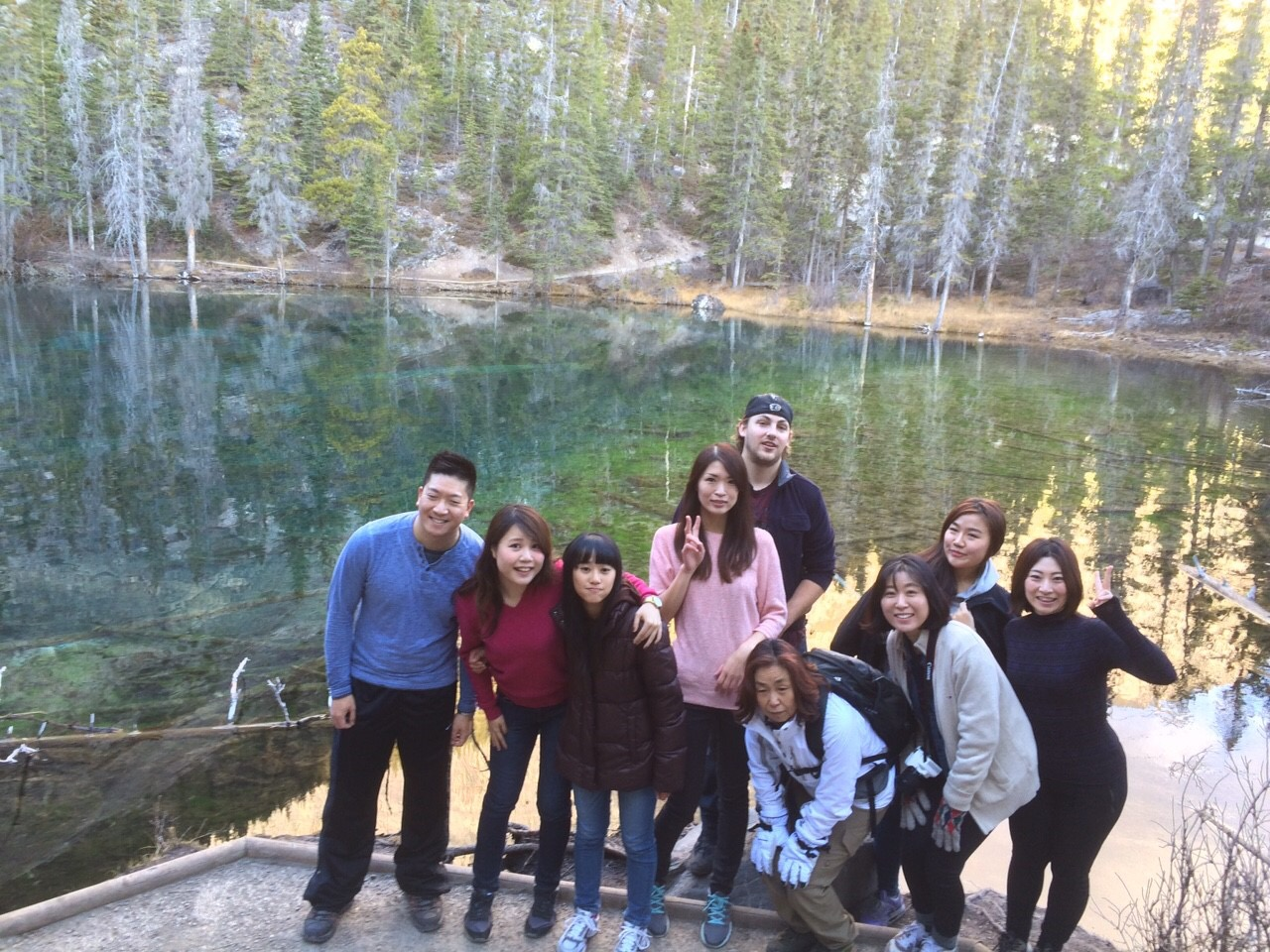 Grassi Lakes Hiking - Fall