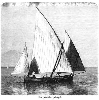 Llaüt pescador