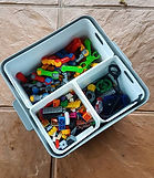 Soka tub laundry soaking bucket storage