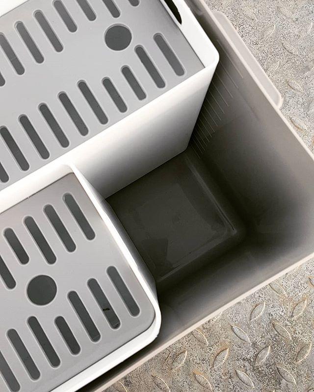 Soka Tub laundry soaking bucket with removable compartments