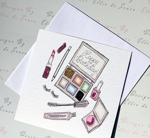 Makeup Card