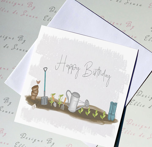 The Gardeners Friend Birthday Card