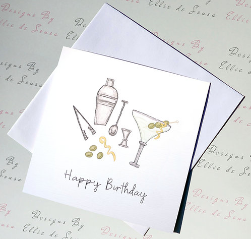 Party Time Birthday Card