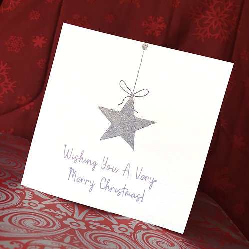 Wishing You A Very Merry Christmas Card