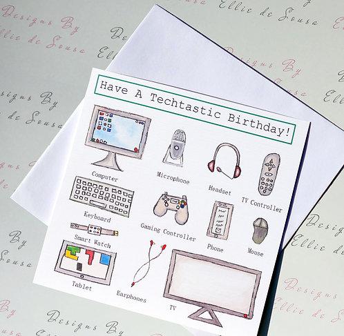 Techtastic Card