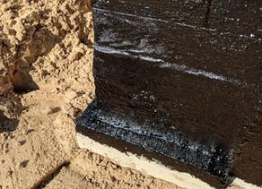 Fluid Applied Asphaltic-Rubber Membrane System