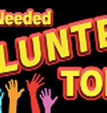 Volunteer needed sign