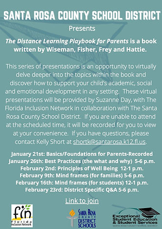 The Distance Learning Playbook for Paren