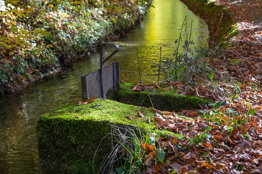 Écluse du canal du Beaumont
