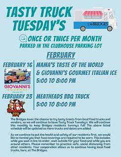 Tasty Truck Tuesday Feb 2021
