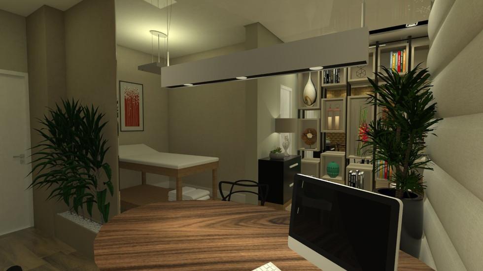 Projeto de interiores   Consultório
