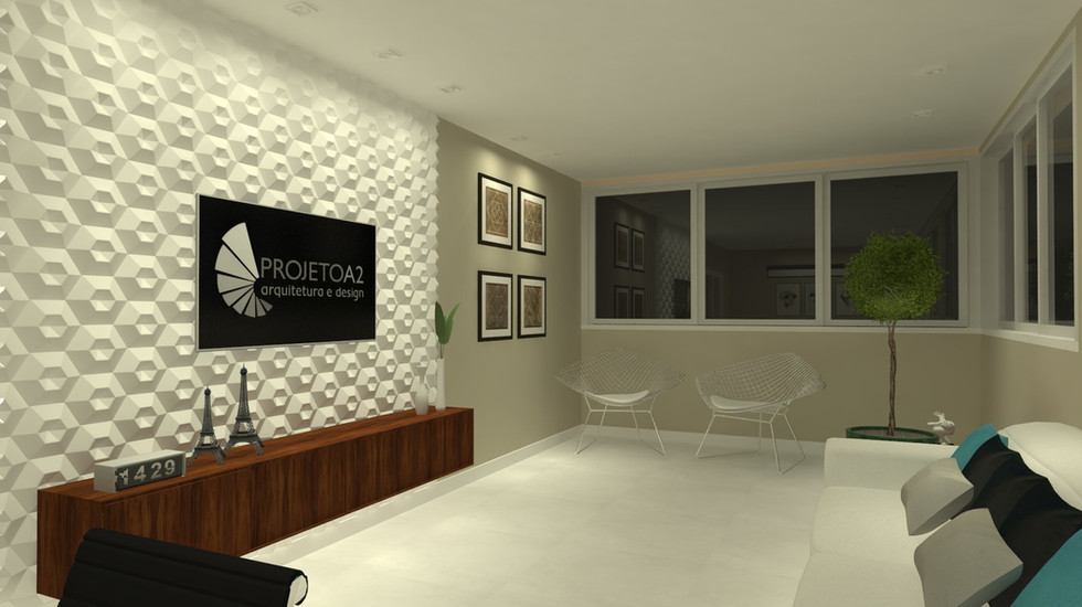 Projeto de interiores   Clínica