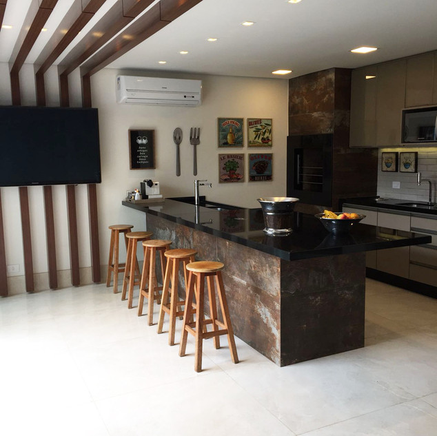 Área Gourmet | Projeto residencial