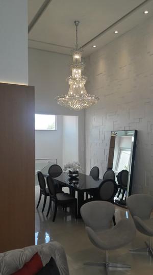 Interiores sala de jantar integrada