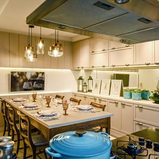 Cozinha integrada   Projeto residencial