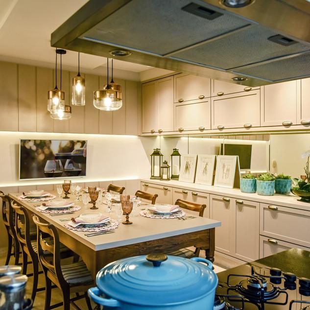 Cozinha integrada | Projeto residencial