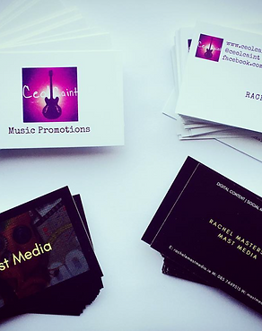 Business card design print offbeat graphics dublin ceoil caint reheart Images