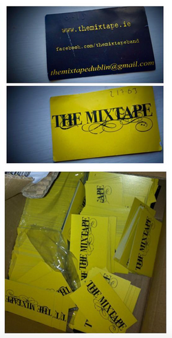 The Mixtape Business Cards