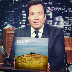 jimmy fallon bands musiccall and rescue single cover #offbeatgraphics #admissionmusic