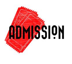 admission band logo #offbeatgraphics