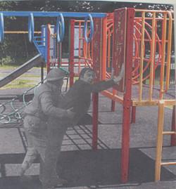 'Surveillance' Series Collage 2007