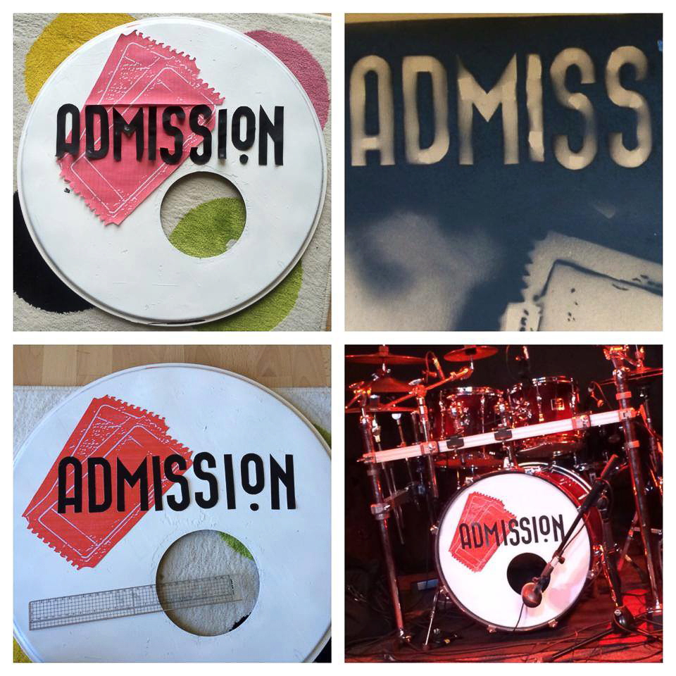 bass drum head art custom drum skins drum head printing