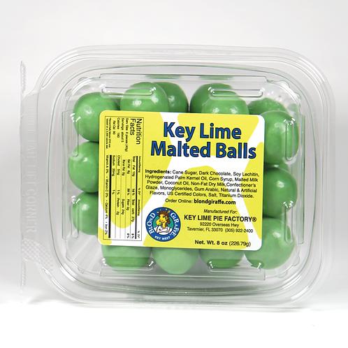 KEY LIME GREEN MALTED BALLS