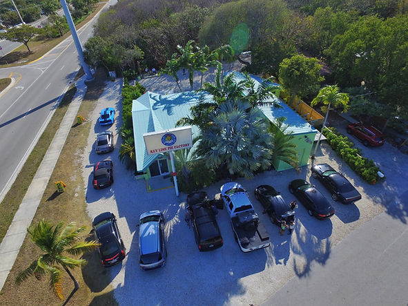 Aerial View of the Tavernier Store