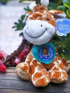 Blond Giraffe (12 inches tall, plush giraffe)