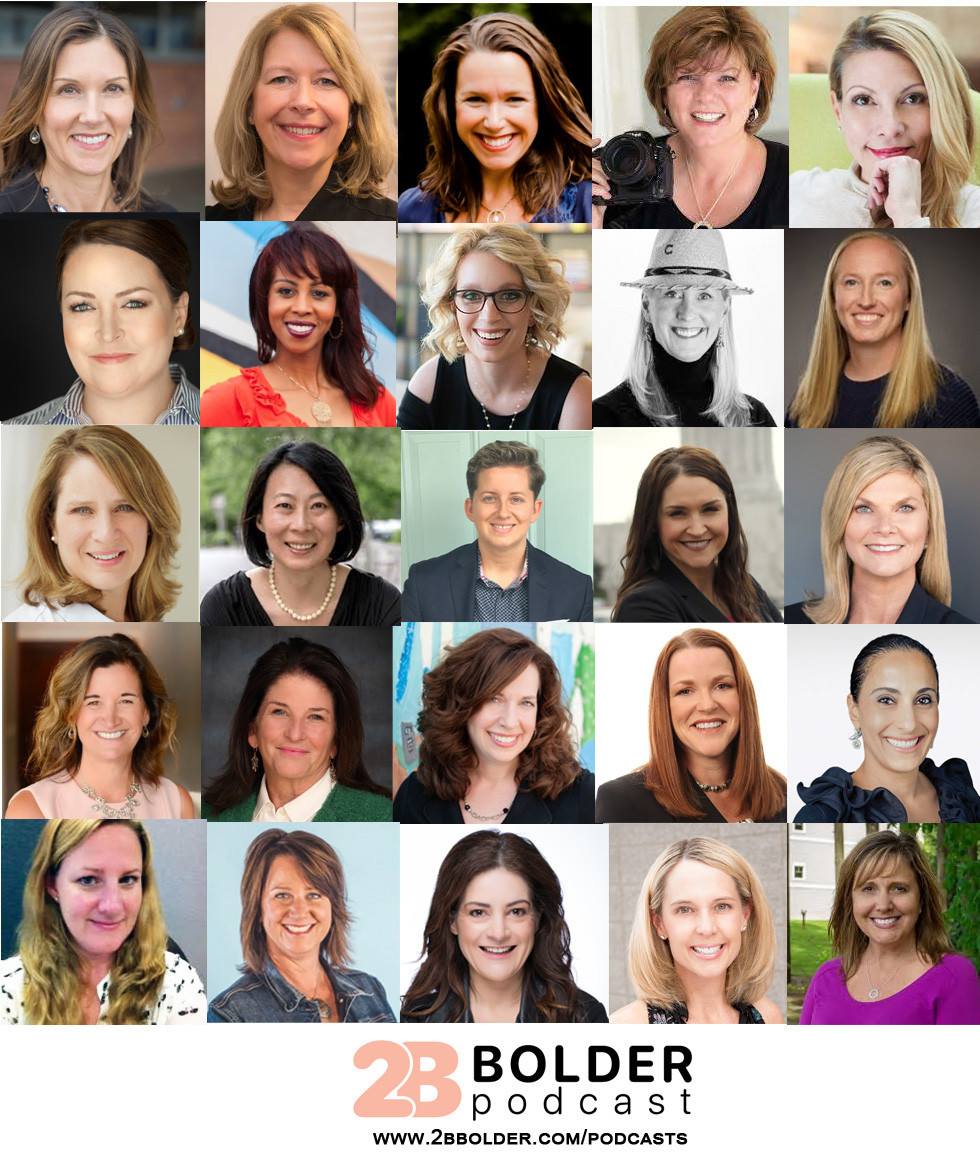These women all shared their Career Stories on the 2B Bolder Podcast show in 2020.