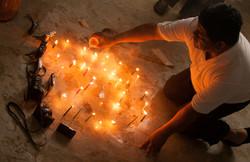 Ceremonia Maya, fotógrafas Tzeltales
