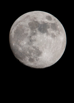 Super Luna. Enero 2018.