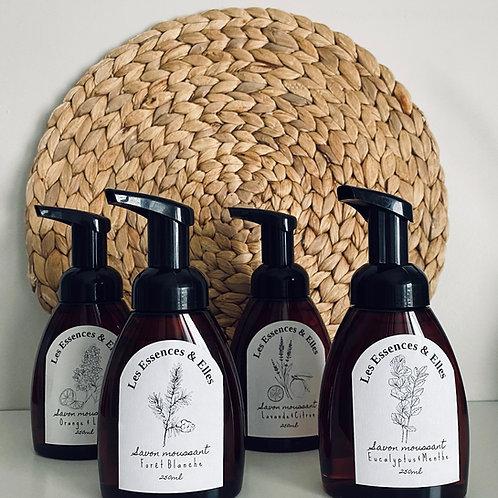 Savon Moussant pour les mains - Fragrances variées
