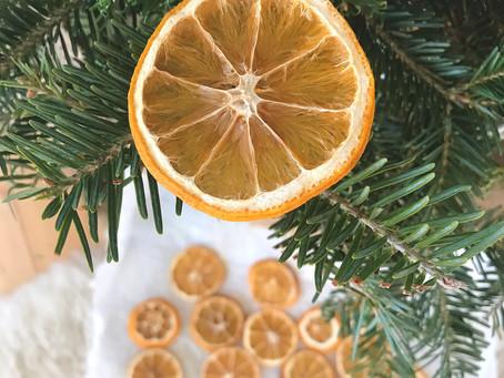 DIY - Décorations de Noël naturelles