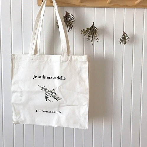 """Le sac réutilisable """"Je suis essentielle"""""""