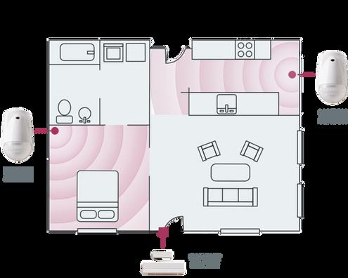 eCare Family floorplan