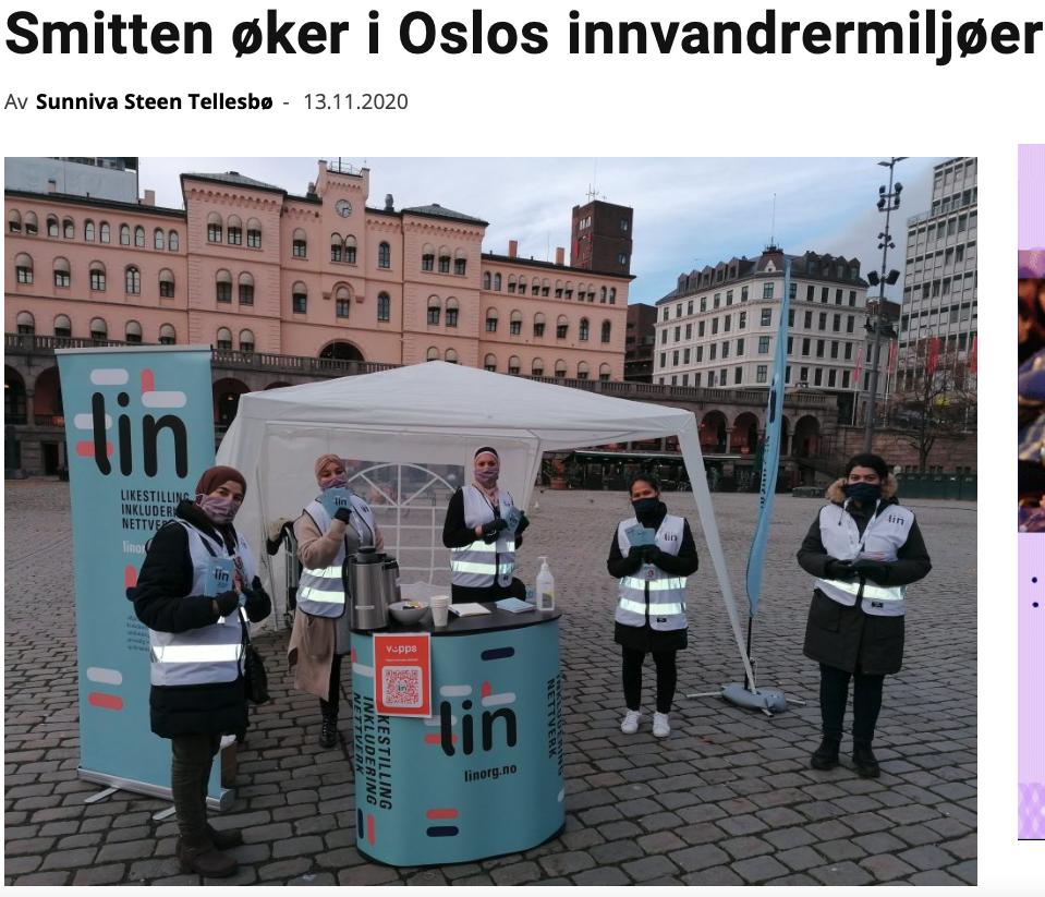 Smitten øker i Oslos innvandrermiljøer