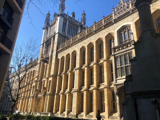 Maughan Library, Kings College Uni