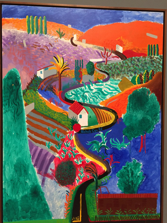 David Hockney Exhibition at Tate