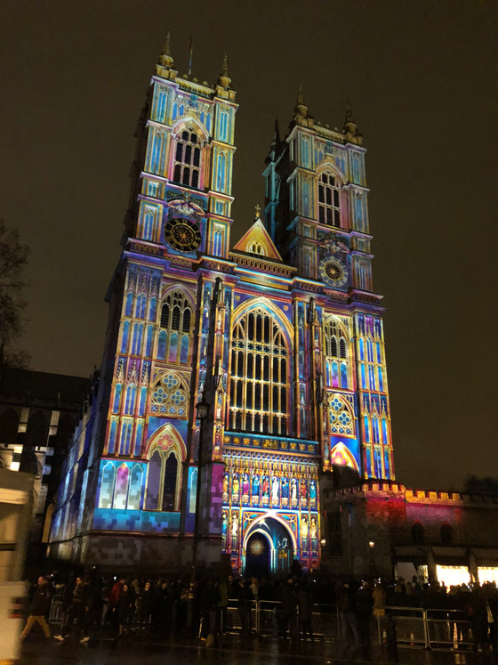 Westminster Abbey - Lumiere Festival