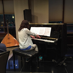Playing Rachmaninof