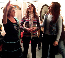 Singning in a choir