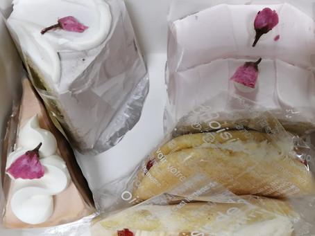 そろそろ桜のケーキの食べ納め。