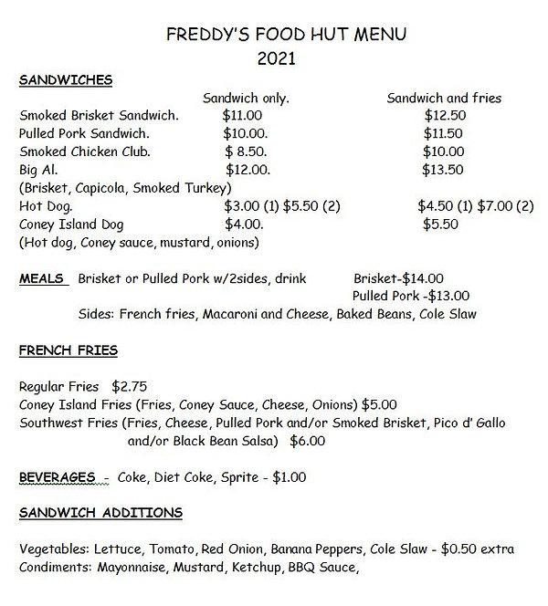Freddy's Food Hut Menu.JPG