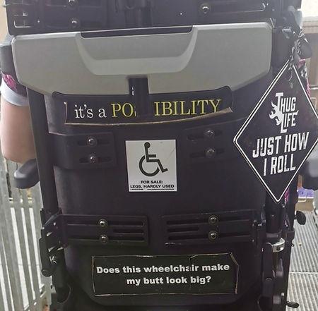 My Wheelchair stickers