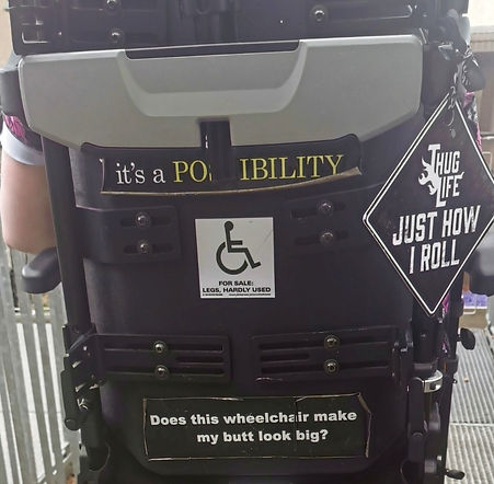 My Wheelchair stickers