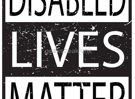 Disabled Lives Matter