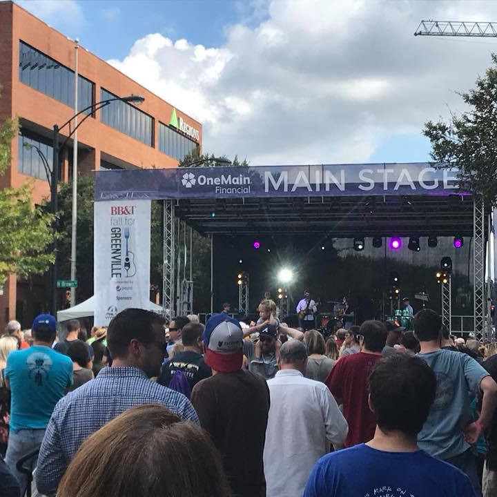 Fall For Greenville - West End Stage