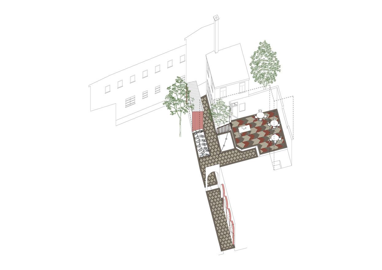 Gestaltung Hinterhof